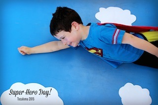 exp boys super hero day wk 2